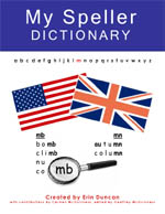 MySpeller Dictionary - Instructor's Edition